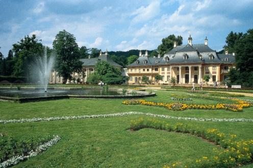 Schloss Pillnitz upriver from Dresden