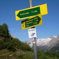 Hut sign up by Zugspitze Bavaria