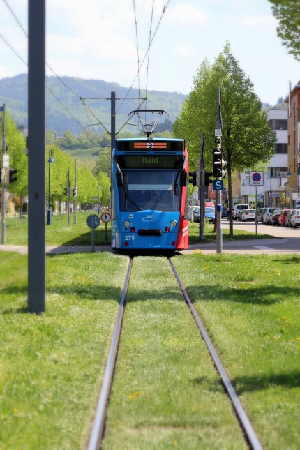 Most residents live within 500 metres of a tram