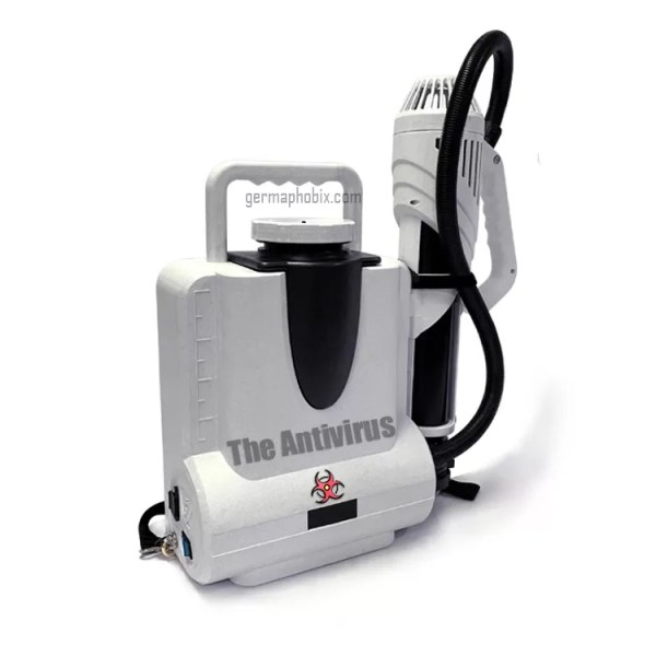 The 'Antivirus' Electrostatic Sprayer CURRENTLY IN STOCK!! Limited availability due to extremely high demand.
