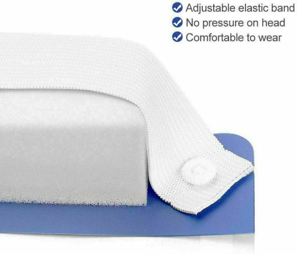 Full Face Shield Resuable Masks with Anti-Fog - 100CT Perfect for frontline staff, medical workers and anyone looking for maximum face protection. These full-shield face masks are high quality and made to be adjustable to any size. They also are anti-fog so they do not fog up with regular breathing.