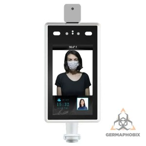 AI Facial Recognition Camera & Temperature Reader Access Control System Recognize authorized people while reading their temperature using the latest artificial intelligence and contact-less infrared technology.