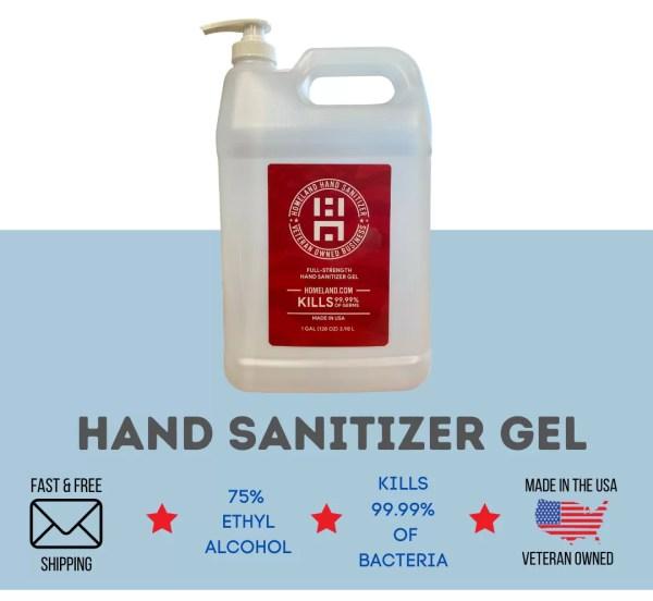 Homeland Hand Sanitizer Gel