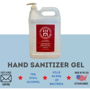 Homeland Hand Sanitizer Gel