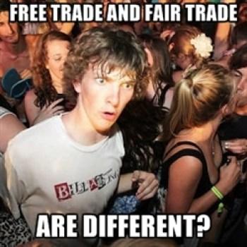 Libre mercado y mercado justo... son diferentes?