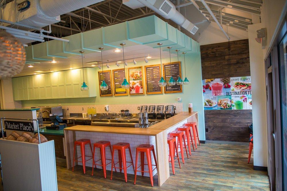 Tropical Smoothie Cafe Las Vegas Interior