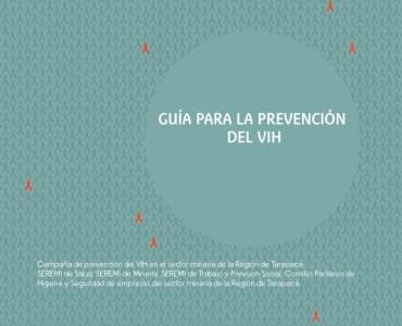 portada Material para la prevención del VIH en el sector minería 2013