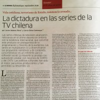 La dictadura en las series de la TV chilena