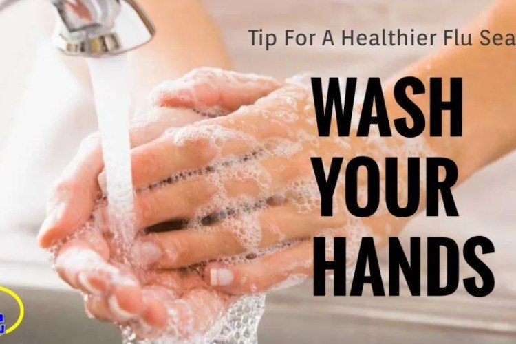 Tips For A Healthier Flu Season #1 of 7: Wash Your Hands