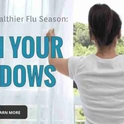 tips for a healthier flu season open your windows