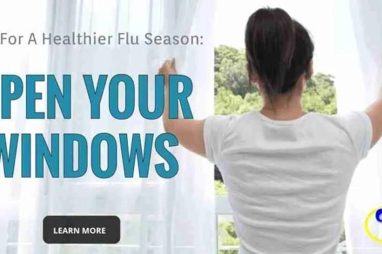 Tips For A Healthier Flu Season #4 of 7: Open Your Windows