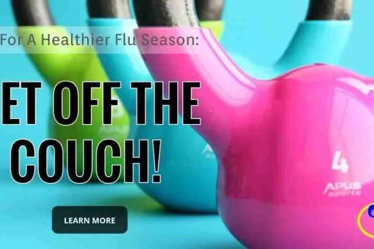 Tips For A Healthier Flu Season #5 of 7: Exercise
