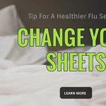 tips for a healthier flu season change your sheets