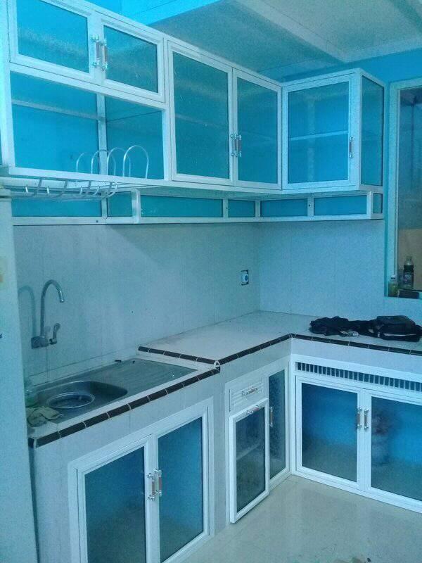 Lemari Kitchen Set Aluminium Cikarang Profesor Gerobak