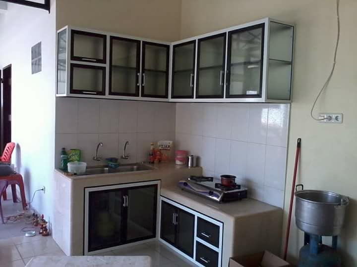 Jasa Pembuatan Kitchen Set Aluminium Composite Panel