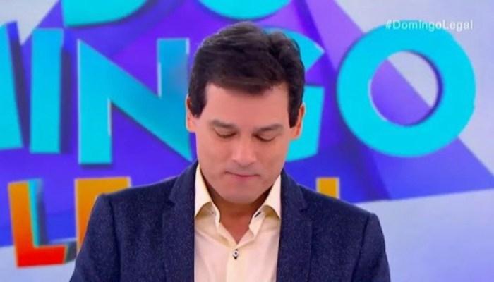 Celso Portiolli no SBT (Foto: Divulgação)