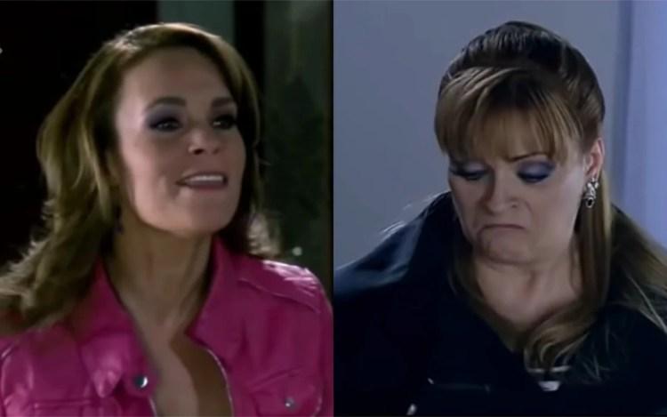 Roberta menospreza Josefina em Quando Me Apaixono (Foto: Divulgação)