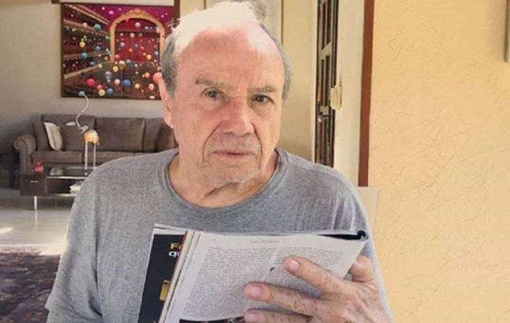 Stênio Garcia ficou sem chão com sua demissão da Globo (Foto: Reprodução)