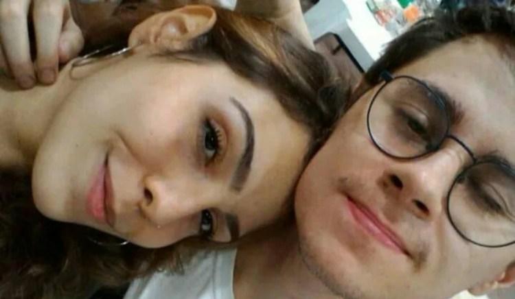 Rafael Miguel e a namorada Isabela Tibcherani (Foto: Reprodução)