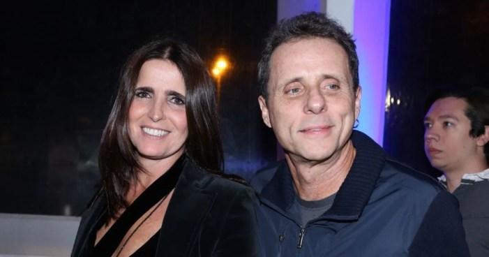 Tony Belloto e sua esposa, Malu Mader (Foto: Reprodução)
