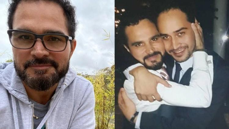 Filho critica Luciano Camargo por não ir ao enterro do pai (Foto: Reprodução)