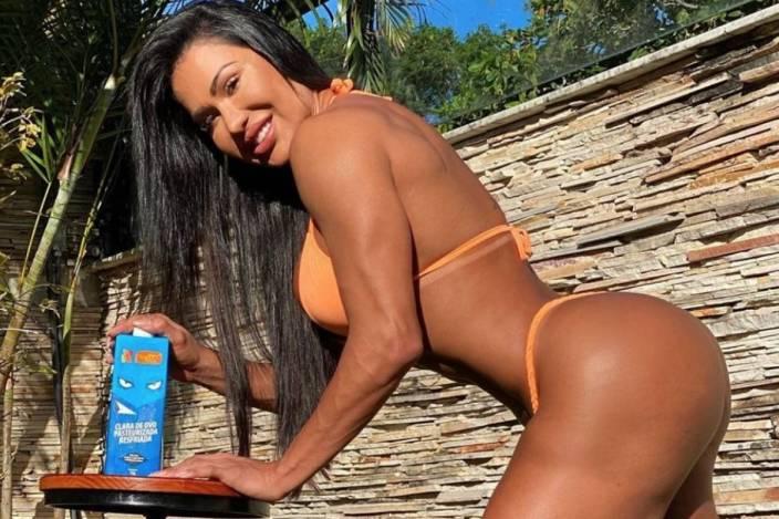 Gracyanne Barbosa comenta suposta participação no Big Brother Brasil 21 (Foto: Reprodução)