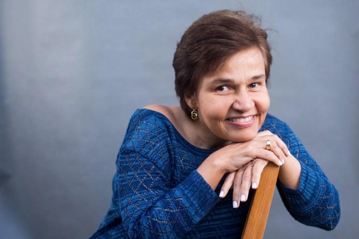 Cláudia Rodrigues faz homenagem a Eduardo Galvão (Foto: Reprodução)