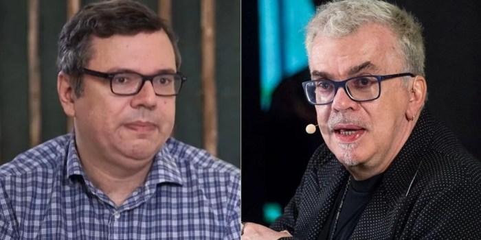 Os autores João Emanuel Carneiro e Walcyr Carrasco; fila de novelas da Globo pode ser alterada (Foto: Reprodução e Estevam Avellar/Globo)