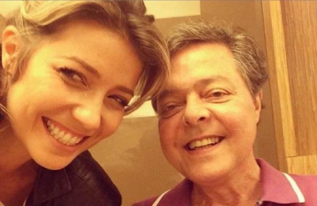 Luiza Possi e Líber Gadelho (Foto: Reprodução)