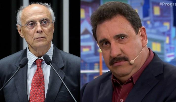 Suplicy disse que Ratinho merece ser preso (Foto: Reprodução)