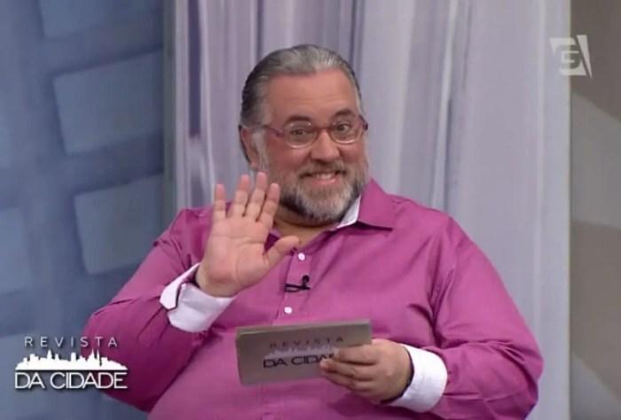 Na TV Gazeta, Leão Lobo assume o cargo de Gabriel Perline(Foto: Reprodução)