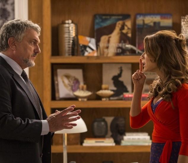 Guido (Werner Schünemann) e Tancinha (Mariana Ximenes) em cena de Haja Coração (Foto: Inácio Moraes/TV Globo)