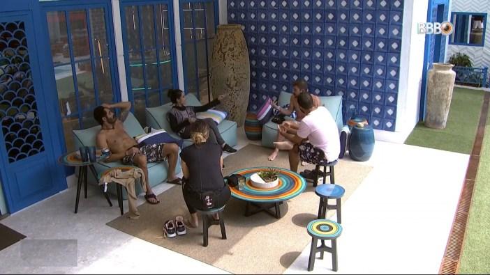 Brothers no Big Brother Brasil 21 da Globo (Foto: Reprodução)