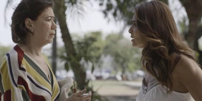 Silvana (Lilia Cabral) revela que gastou todo o dinheiro de Bibi (Juliana Paes) em A Força do Querer (Foto: Reprodução/TV Globo)