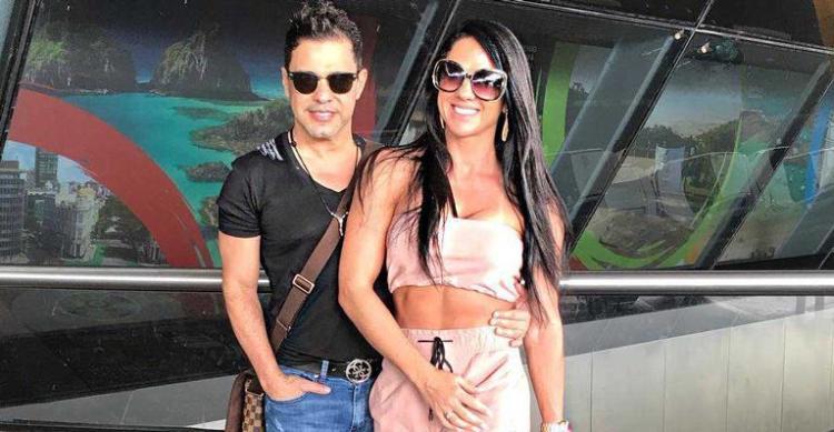 Graciele Lacerda e Zezé di Camargo juntos (Foto: Reprodução)