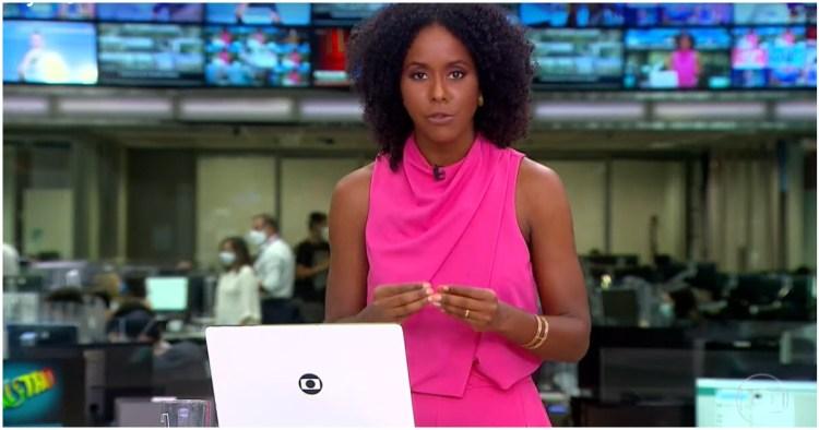 Maju Coutinho invadiu programação da Globo com novas informações, mas não agrada público (Foto: Reprodução)