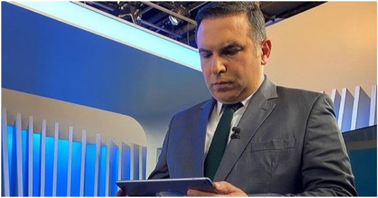 Reinaldo Gottino expôs história triste e falou que perdeu uma telespectadora (Foto: Reprodução)