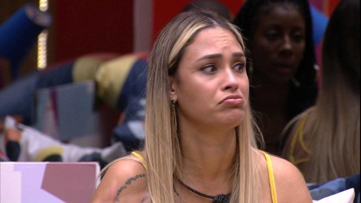 BBB21: Sarah revela gostar de Bolsonaro (Foto: Reprodução)