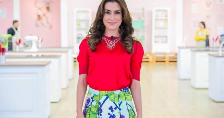 Ticiana Villas Boas já apresentou o Bake Off, no SBT. (Foto: Reprodução)