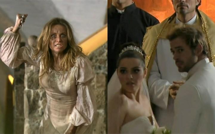 Helena invade casamento de Max e Maria em Triunfo do Amor (Foto: Divulgação)