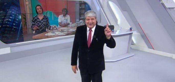 Datena critica jornalista da Globo