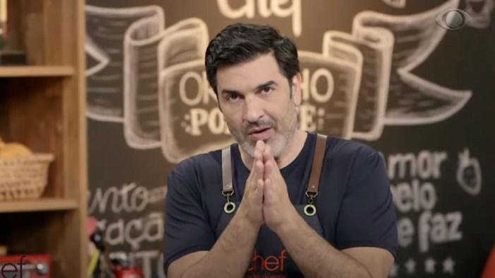 Edu Guedes no The Chef da Band (Foto: Reprodução)