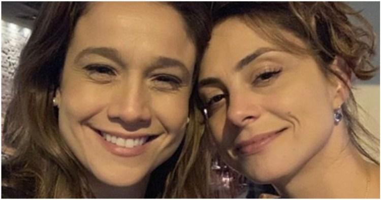 Fernanda Gentil é casada com Priscila Montandon (Foto: Reprodução)