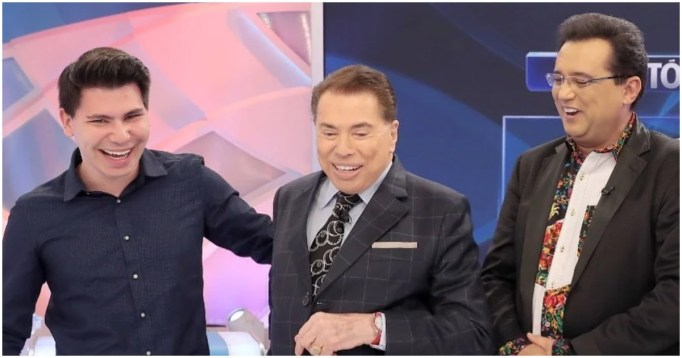 Filho de Geraldo Luis deu o que falar por conta de semelhança com Silvio Santos (Foto: Reprodução)