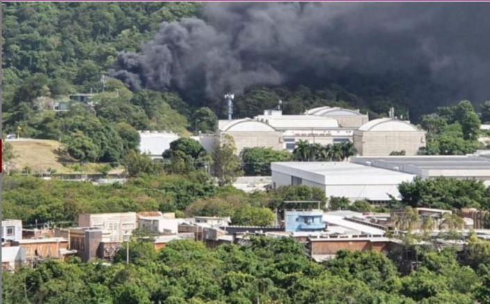 Globo pegando fogo hoje (20) (Foto: Reprodução)