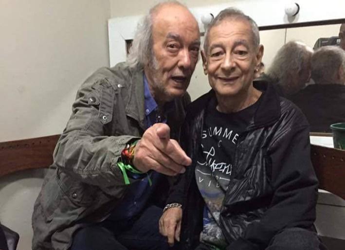 Lafayette Coelho e Erasmo Carlos (Foto: Reprodução)