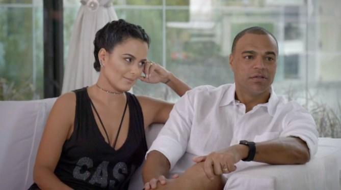 Luciele Di Camargo fala da relação do marido  Renata Fan (Foto: Reprodução)