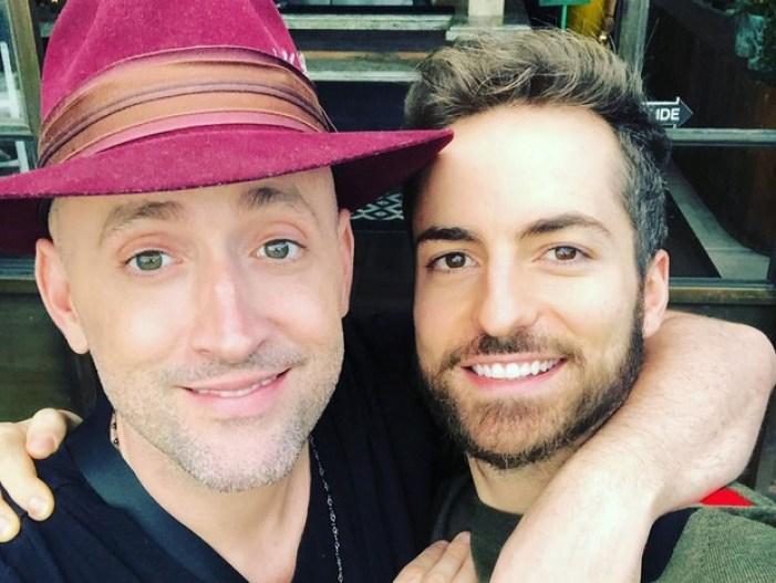Paulo Gustavo e seu marido (Foto: Reprodução)