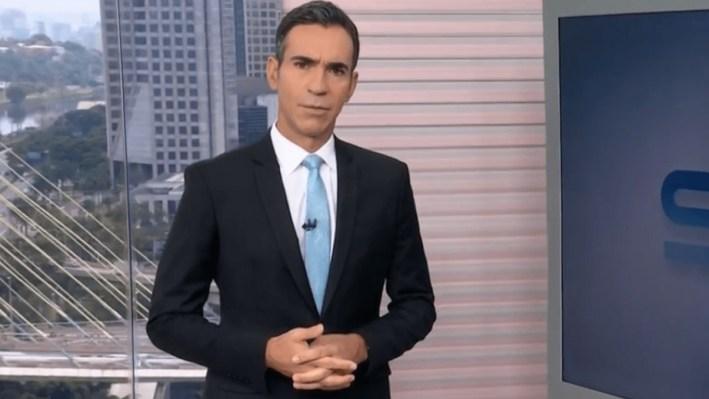 César Tralli, marido de Ticiane Pinheiro, é apresentador do Grupo Globo (Foto: Reprodução)