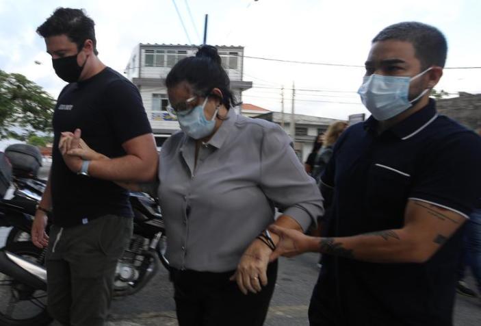 Yudi Tamashiro e os familiares (Fotos: Claudio Vitor Vaz/Francisco Cepeda/AgNews)